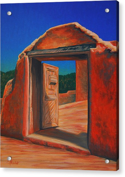 Doorway To Las Trampas Acrylic Print