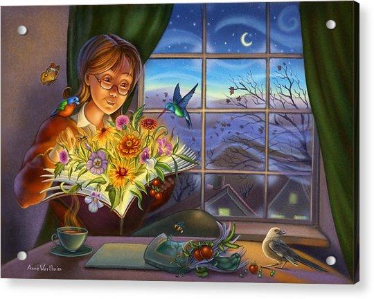 Dream Gardening Acrylic Print
