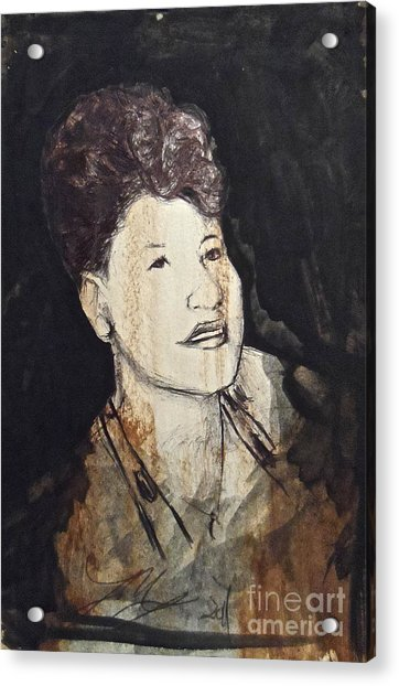 Ella Fitzgerald Acrylic Print