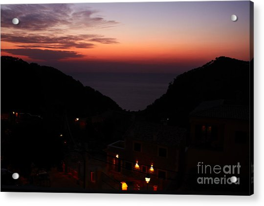 Estellencs View Acrylic Print