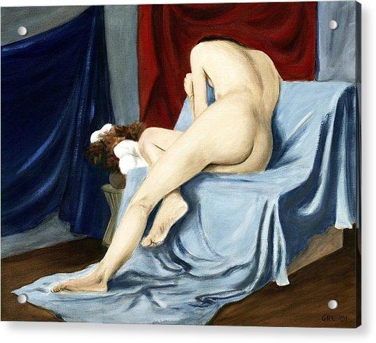 Fine Art Female Nude 2001 Acrylic Print