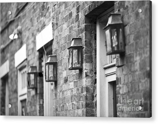 French Quarter Lamps Acrylic Print