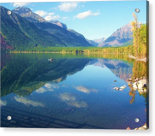 Glacier Park Magic Acrylic Print