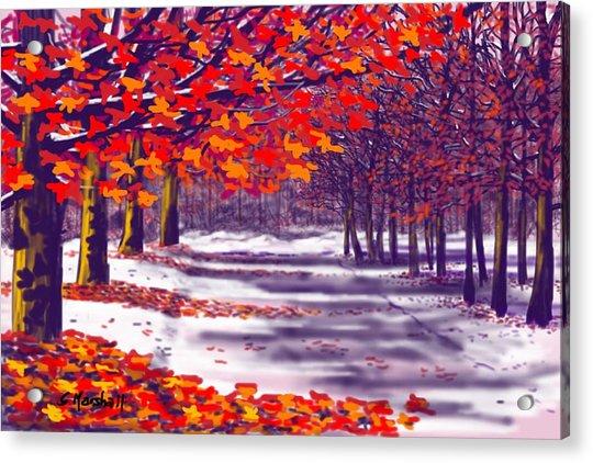 Glory Of Autumn Acrylic Print