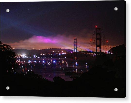 Golden Gate 75th Anniversary 1 Acrylic Print
