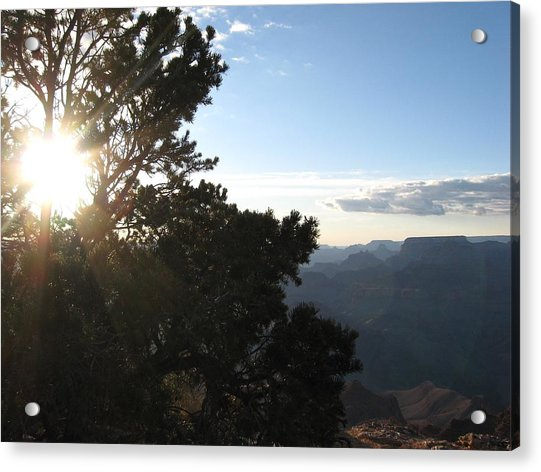 Grand Canyon Sun Acrylic Print