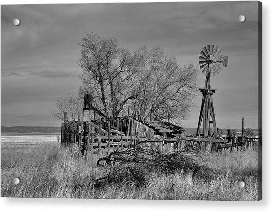 High Plains Wind Acrylic Print