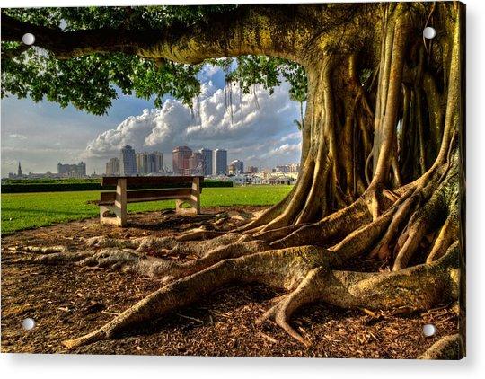 Hobbit Eyeview Acrylic Print