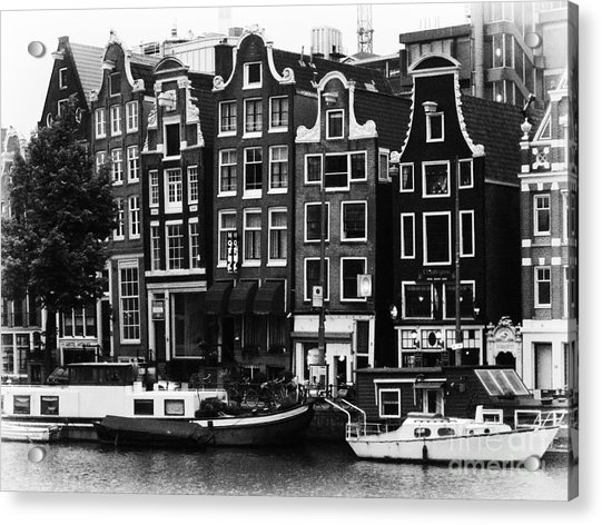 Homes Of Amsterdam Acrylic Print