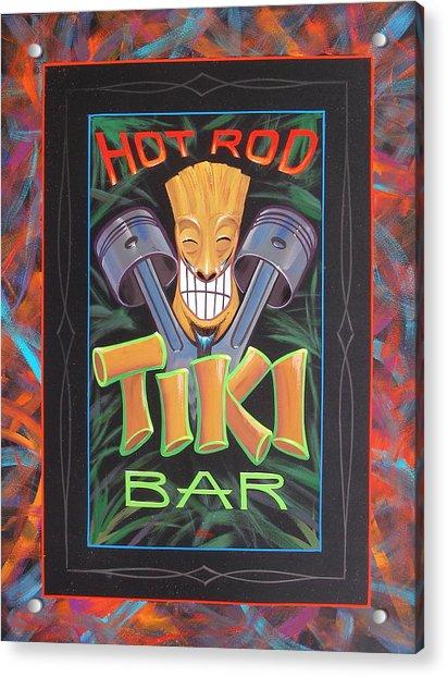 Hot Rod Tiki Bar Acrylic Print