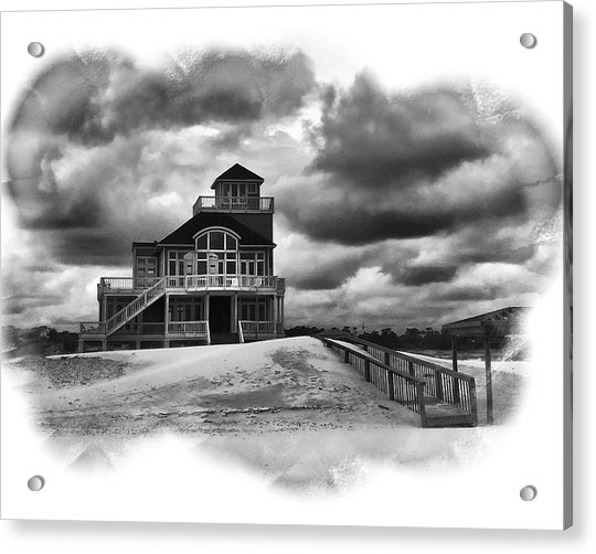 House At The End Of The Road Acrylic Print