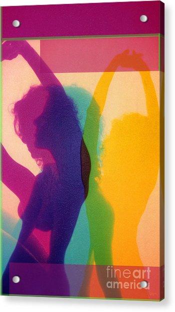 I Dream In Color 4 Acrylic Print