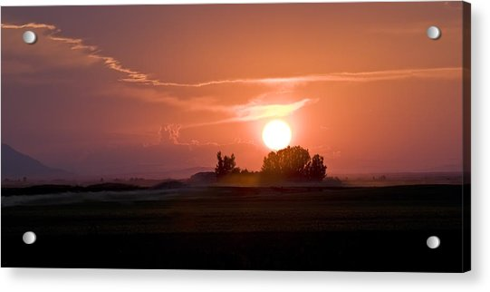 Idaho Sunset Acrylic Print