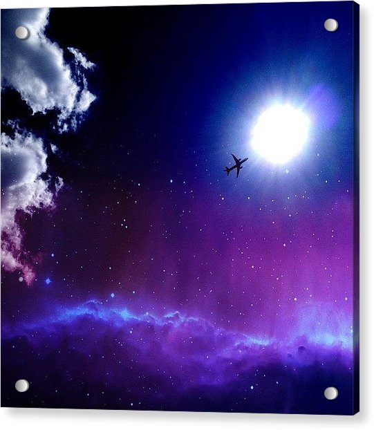 Into The Nebula Acrylic Print