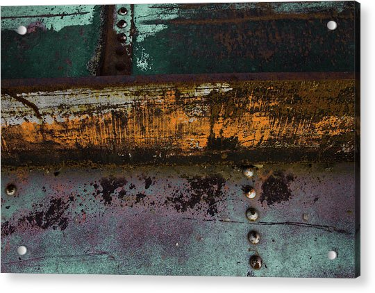 Iron And Rust Acrylic Print