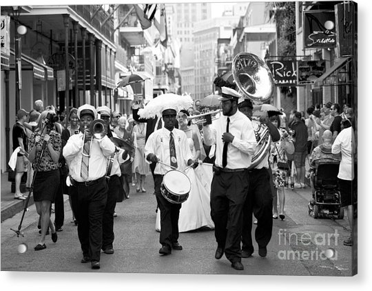 Jazz Wedding Acrylic Print