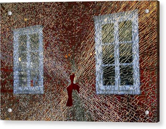 Kosta Shattered Acrylic Print