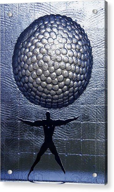 Kosta Universal Man Acrylic Print