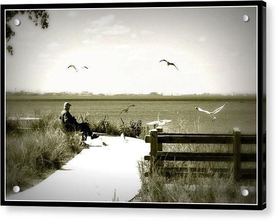 Lakeside Solitude Acrylic Print