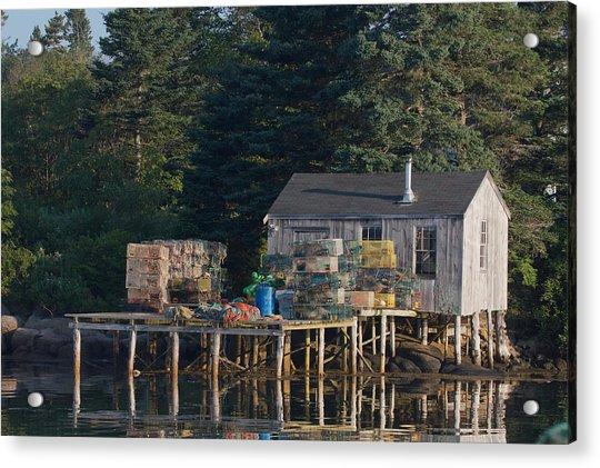 Lobster Shack Prospect Harbor Acrylic Print