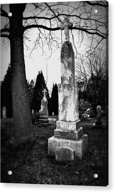 Long Grave Acrylic Print