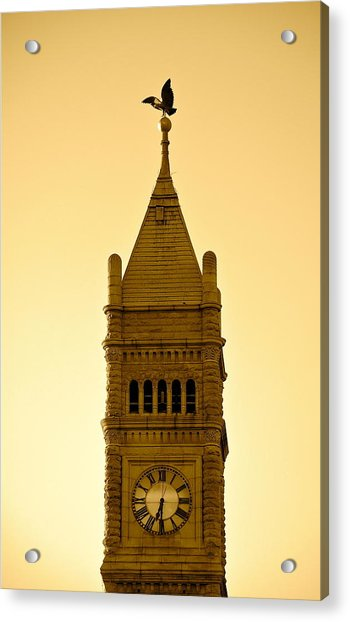 Lowell Clock Tower II Acrylic Print