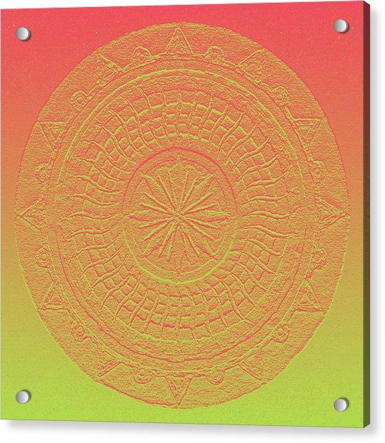 Mandala Meditation 2 V2 Acrylic Print