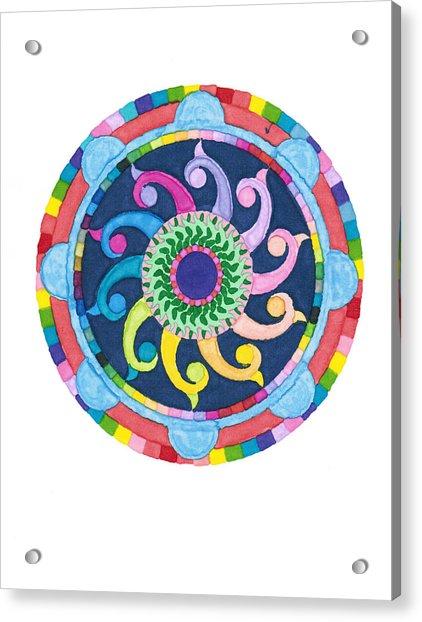 Mandala Meditation I Acrylic Print