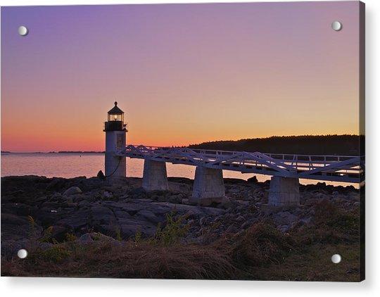 Marshell Point Light House Acrylic Print
