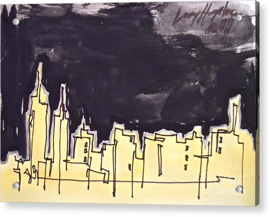Midtown Acrylic Print