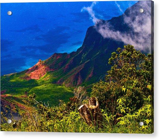 Na Pali Coast Hawaii 08 Acrylic Print