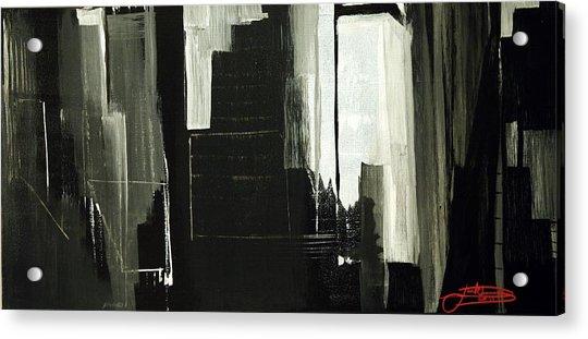 New York City Reflection Acrylic Print