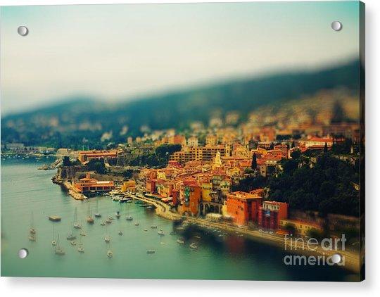 Nice Coast, France Acrylic Print