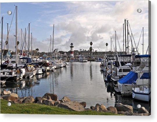 Oceaside Harbor Acrylic Print