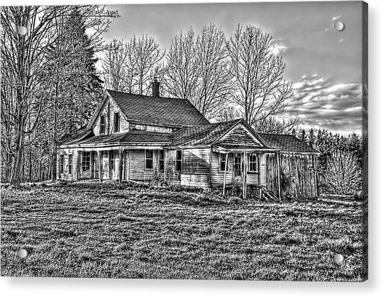 Old Abandoned Farmhouse Acrylic Print