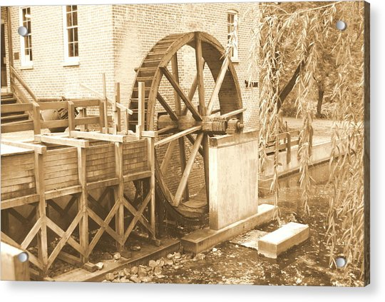 Old Watermill Acrylic Print