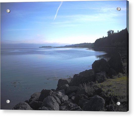 Olympic Discovery Trail Port Angeles Acrylic Print