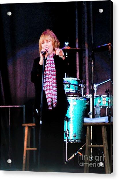 Art Print Poster Canvas Pat Benatar Singing