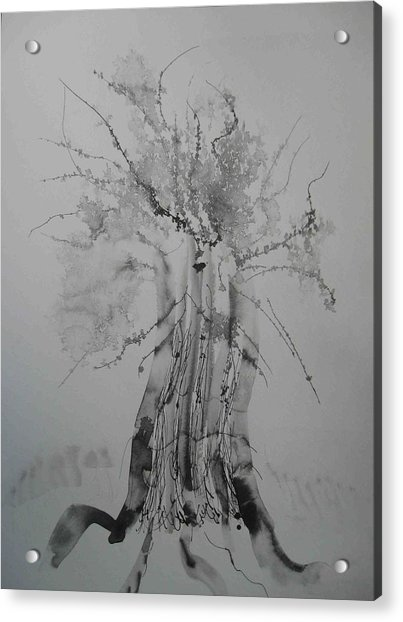 Pen And Ink Eleven Acrylic Print