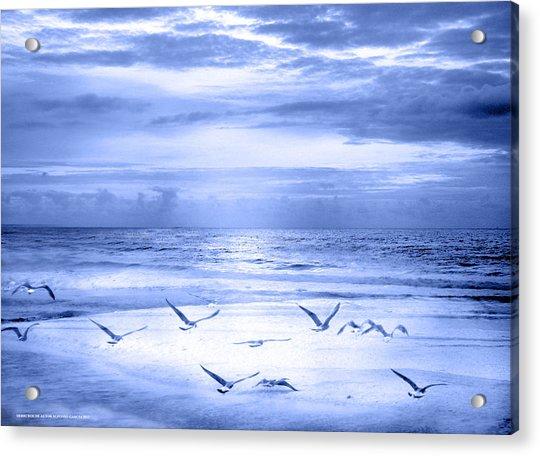 Playa De Traba Acrylic Print
