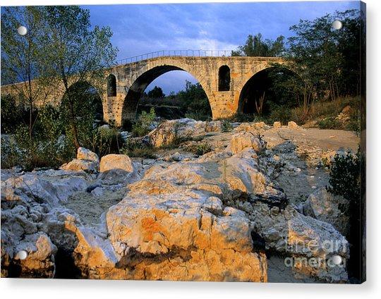 Pont Julien. Luberon. Provence. France. Europe Acrylic Print