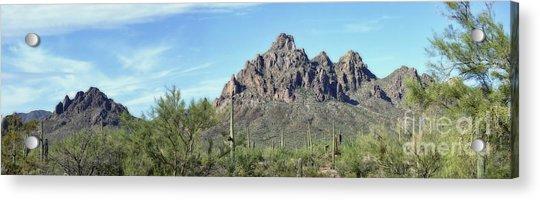Ragged Top Mountain Panorama Acrylic Print