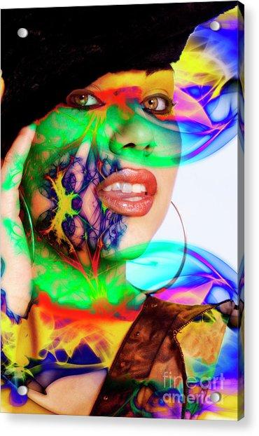 Rainbow Beauty Acrylic Print
