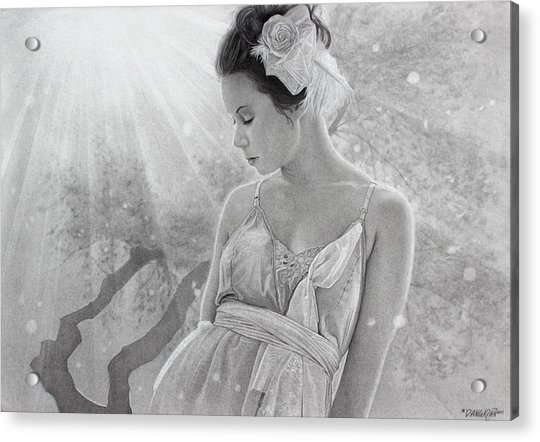 Rapture In The Light Acrylic Print
