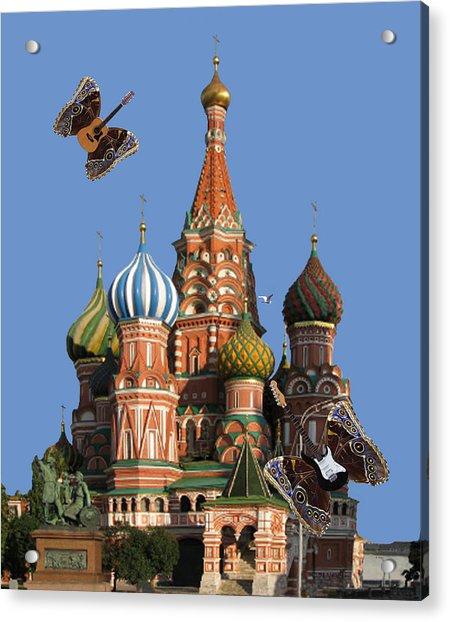 Rock On Moscow Acrylic Print