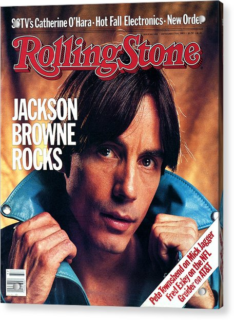 Rolling Stone Cover - Volume #404 - 9/15/1983 - Jackson Browne