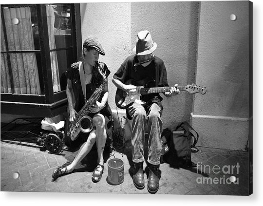 Royal Street Music Acrylic Print