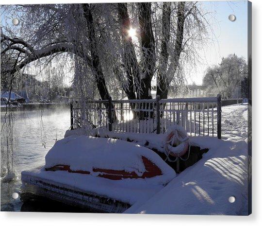 Safe Winter Acrylic Print
