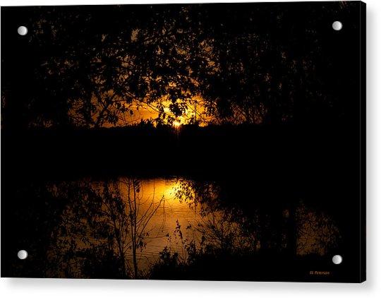 Scary Sunset Acrylic Print