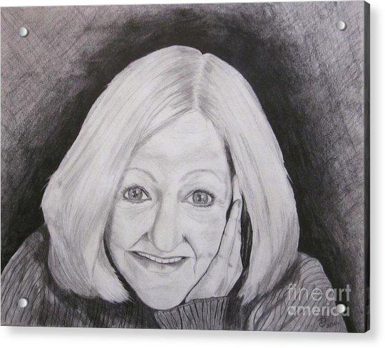 Self-portrait Paje Acrylic Print